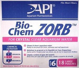 API Bio Chem Zorb Bulk 18 x 10oz Pouches