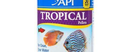 API Tropical Pellet Food 119g