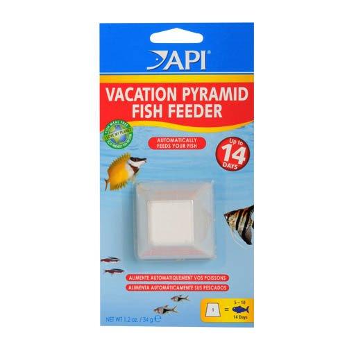 API Vacation Pyramid Fish Feeder 14 Days