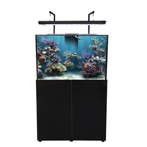 Aqua One AquaReef 395 Marine Set 395L 120lx55dx60 80cm H Black
