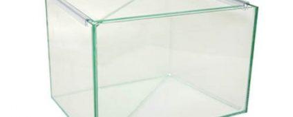 Aqua One Betta Divided Glass Tank 25x20x20