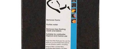 Aqua One Carbo Pad Self Cut Filter