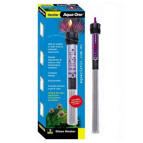 Aqua One Glass Heater 150W