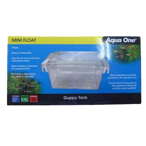Aqua One Mini Float Guppy Tank Small 0.75L