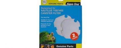 Aqua One Nautilus 1100/1400 Wool Pad 84w