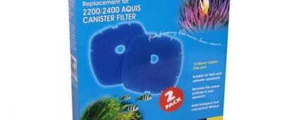 Aqua One Nautilus 2700 Aquis 2200/2400 Sponge 15ppi Blue 41s