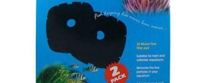 Aqua One Nautilus 2700 Aquis 2200/2400 Sponge 35ppi Black 42s