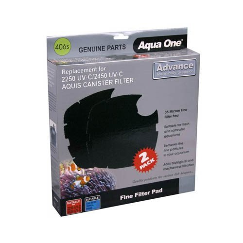 Aqua One Nautilus 2700UV Aquis 2250/2450UV Sponge 35ppi Black 406s