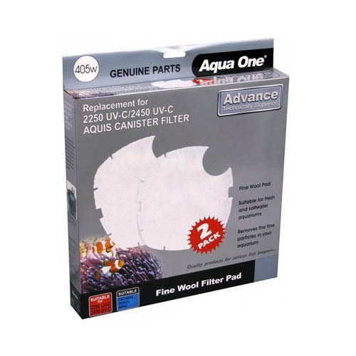 Aqua One Nautilus 2700UV Aquis 2250/2450UV Wool Pad 405w