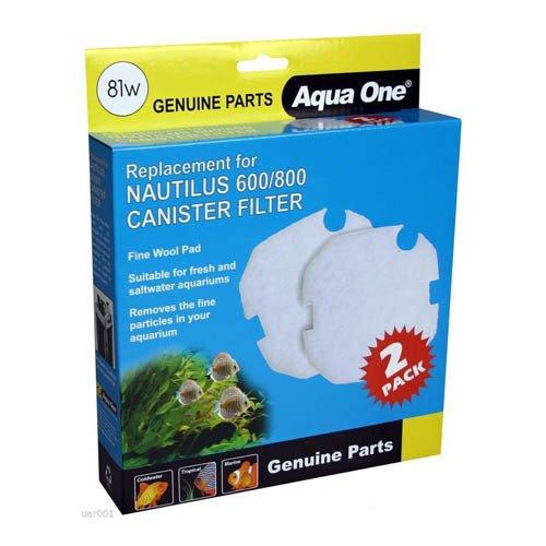 Aqua One Nautilus 600/800 Wool Pad 81w