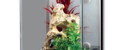 Aqua One Reflex 26 Glass Aquarium 26L 30W x 36D x 36cm H (Black)