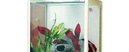 Aqua One Reflex 35 Glass Aquarium 35L 39W x 46D x 46cm H (White)