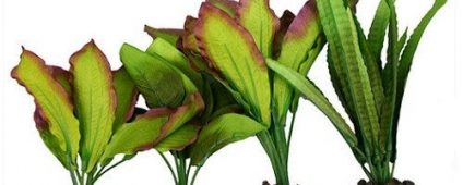 Aqua One Silk Plant 4pk Mix 3