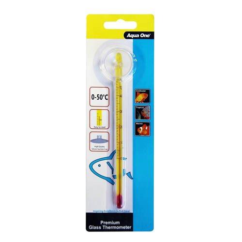 Aqua One Thermometer Glass Premium 15cm