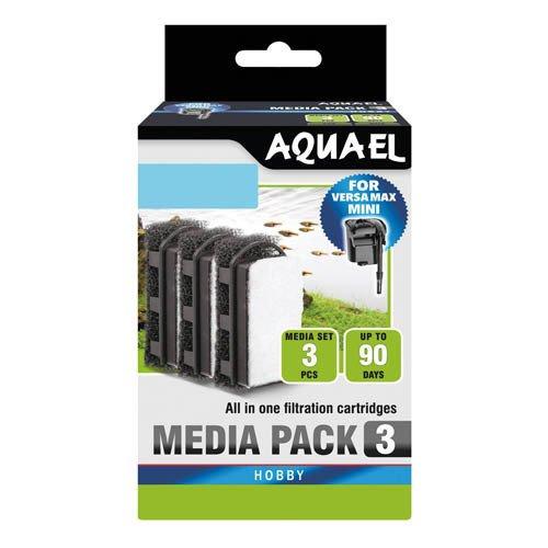 Aquael Versamax Mini Media Pack 3pk