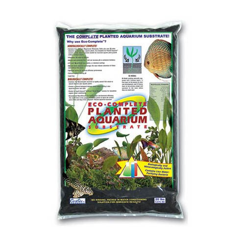 CaribSea Eco-Complete Planted Aquarium Black 20lb 9.1kg