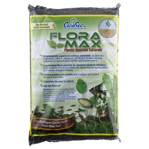 CaribSea Flora Max Midnight Black 12lb 5.4kg
