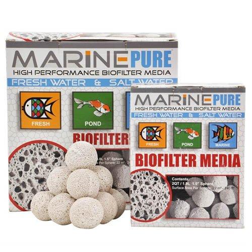"CerMedia Marine Pure Bio Filter Media 3.8L 1.5"" Sphere"