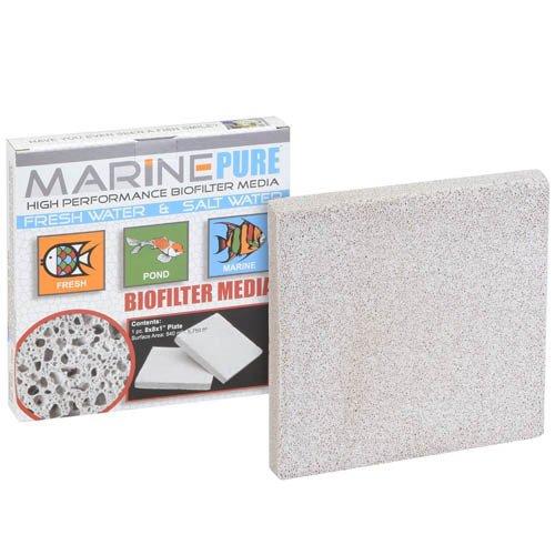 "CerMedia Marine Pure Bio Filter Media 8x8x1"" Plate"