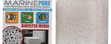 """CerMedia Marine Pure Bio Filter Media 8x8x4"""" Block"""