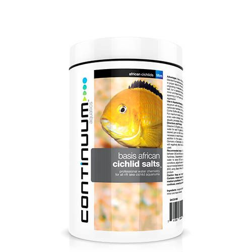 Continuum Aquatics Basis African Cichlid Salts 1000g
