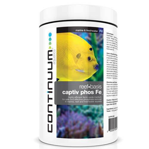 Continuum Aquatics Reef Basis Captiv Phos Fe 600g