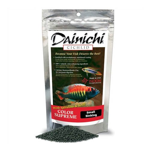 Dainichi Cichlid Colour Supreme Sinking Small Pellet 250g 3mm