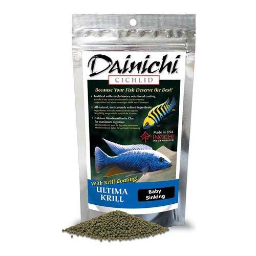 Dainichi Cichlid Ultima Krill Sinking Baby Pellet 250g 1mm