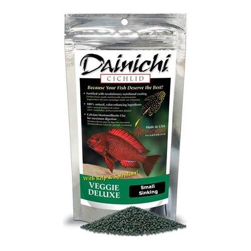 Dainichi Cichlid Veggie Deluxe Sinking Small Pellet 250g 3mm