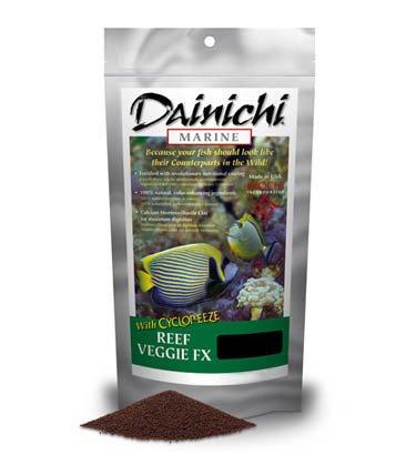 Dainichi Marine Reef Veggie FX Small Pellet 250g