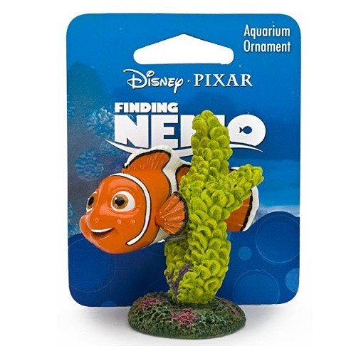 Finding Nemo - Nemo on Coral Large 5x5x6.5cm Resin