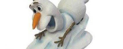 Frozen - Olaf Sliding Down 11cm