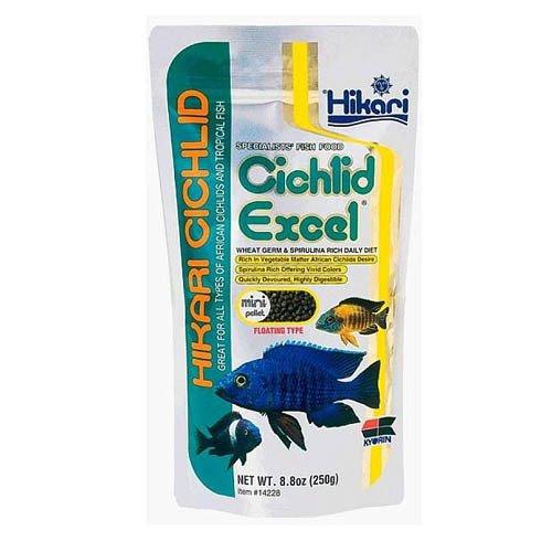 Hikari Cichlid Excel Floating Medium Pellet 250g