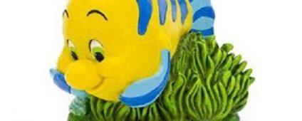 Little Mermaid - Flounder Large 7x9x7cm