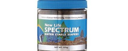 New Life Spectrum H2O Stable Wafers 12mm Sinking 125g
