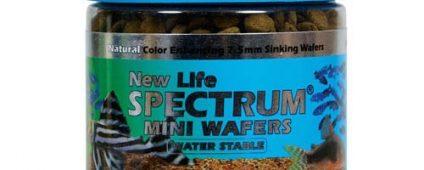 New Life Spectrum Mini Wafers 7.5mm Sinking 125g
