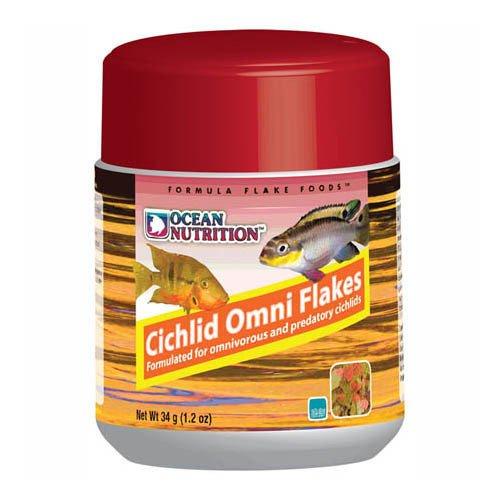 Ocean Nutrition Cichlid Omni Flakes 34g