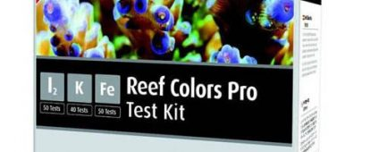 Red Sea Coral Colors Pro Test Kit
